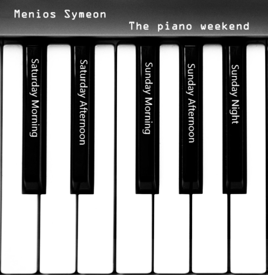 Menios Symeon The piano Weekend Cover